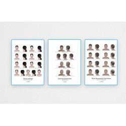 Pakiet 3 plakatów 60x80